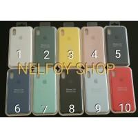 Iphone X 10 ten Silicone Case casing Hard Soft jelly ORIGINAL
