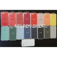 IPhone 8 & 7 Plus Silicone Case Original Hard Casing Soft Apple Cover