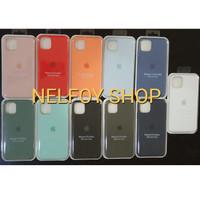 IPhone 11 Pro Max Silicone Case Cover Original Design Casing Hardcase