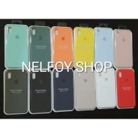 IPhone XS Max Silicone Case Cover Hard Original Design Casing Hardcase