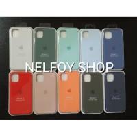 IPhone 11 Silicone Case Cover Hard Original Design Casing Hardcase