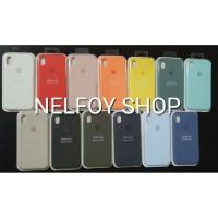 IPhone XR Silicone Case Cover Hard Original Design Casing Hardcase