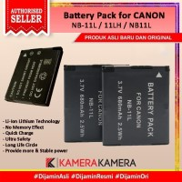Battery Pack NB-11L/11LH for Canon powershot series
