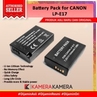 Battery Pack LP-E17 for Canon EOS M5, M6, 750D, 760D, 800D etc...