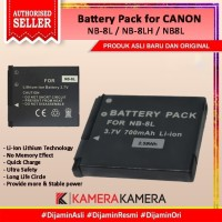 Battery Pack NB-8L for CANON PowerShot A3200 IS,A3300 IS, A3350 IS etc