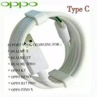 New Kabel Data Charger OPPO Tipe-C VOOC 3.0 Original100% Fast Charging