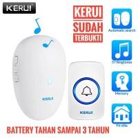 KERUI M521 Wireless Bel Rumah wireless Multi Tone Bel Pintu Doorbell
