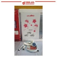 NIKO Gas Water Heater Pemanas Air Bonus Shower Mandi Wasser NK 6L