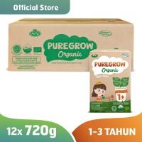 1 Carton PUREGROW Organic - Susu Formula Organik 1-3 Tahun 720gr Girl