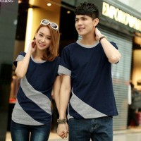 KAOS COUPLE KOMBINASI I BAJU COUPLE