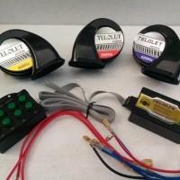 Klakson telolet keong 8 tombol 8 suara universal motor mobil