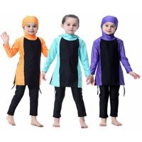 Baju Renang Muslim Muslimah Anak Cewek usia 3-10 thn