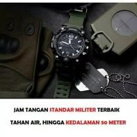 ORIGINAL SMAEL Jam Tangan Pria Standard Militer Waterproof Anti Air