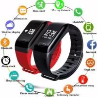 Smartband 100% ORIGINAL Jam Tangan Anti Air IP67 Untuk Olahraga Fitnes