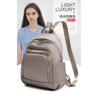 2431 2432 2432 Backpack Tas Punggung Ransel Wanita Cewek Impor Fashion