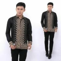 Kemeja Batik Pria Lengan Panjang JKW2 Baju Batik Pria