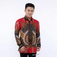Kemeja Batik Pria Lengan Panjang Adipati Baju Batik Pria