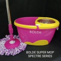 Bolde Super Mop Spectre / Alat Pembersih Lantai / Alat pel Bisa di Lip