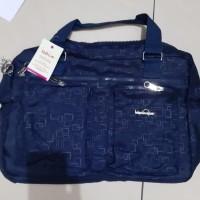 Tas Travel Kipling/Travel Bag Kipling 2In1 - Hitam