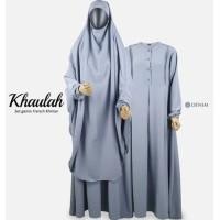 Setelan French Khimar gamis model khaulah