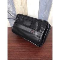 Clutch Tu-mi Alpha Leather Handbag