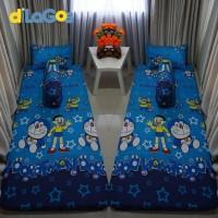 Paling Laris Sprei Resleting Sarung Kasur Busa Karakter Doraemon