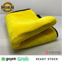30x60 cm Super Besar HALUS Absorbent Microfiber Towel Wax Anti Baret