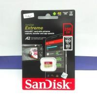 Micro SD Extreme SanDisk 256GB 160Mbps 4K A2 ORIGINAL GARANSI RESMI
