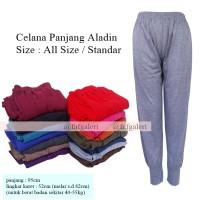 Celana Panjang Model Aladin All Size - Celana Wanita Muslim Gamis
