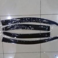 Talang air hujan mobil Honda Brio Side Visor Brio Slim hitam
