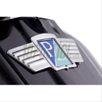Sip Horn emblem cover chrome all modern vespa lx s lxv gts sprint p