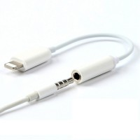 Lightning to 3 5mm Audio jack adapter Cable Converter iPhone 7 8 Plus