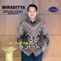 Wiraditya Kemeja Batik Pria Lengan Panjang By Raja Sakti - M