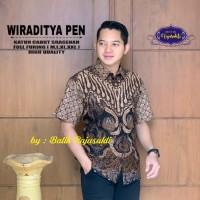 Wiraditya Kemeja Batik Pria Lengan Pendek By Raja Sakti