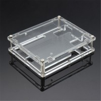 Sos Kotak Shell akrilik transparan untuk Arduino UNO R3 modul