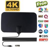 Taffware Antena TV Digital DVB-T2 4K High Gain 25dB - TFL-D139 Black