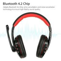 [top1] Headset Gaming Wireless dengan Mic untuk PC / Laptop / PS4 /