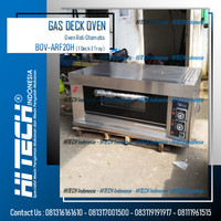 Gas Deck Oven Fomac 1 Deck 2 Tray BOV-ARF20H Oven Roti Otomatis