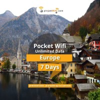 Sewa Pinjam Wifi Eropa 7 Days Unlimited Share 5 device