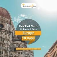 Sewa Pinjam Wifi Eropa 10 Days Unlimited Share 5 device