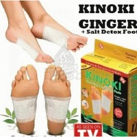 KIYOME KINOKI GOLD GINGER+SALT CLEANSING DETOX FOOT KOYO KAKI ORIGINAL