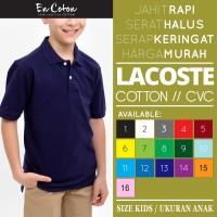 Kaos Kerah PREMIUM ANAK / Polo Shirt Kids Bahan Katun (Nyaman Dipakai) - S