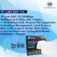 TP-Link EAP 110 300Mbps Wireless N Ceiling Mount Access Point