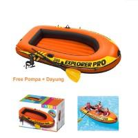 Perahu Karet 300 Exproler PRO free Pompa dan Dayung Intex 58358
