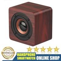 Bluetooth Speaker model Kayu Unik Klasik speaker Stereo Subwoofer - Q1