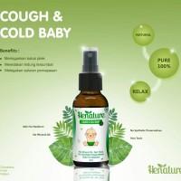 Henature Cough & Cold Baby (1-5thn) Batuk Pilek Bayi essential oils - 10 ml