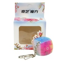 Rubik 3x3- QiYi Pillow Keychain Transparent Original