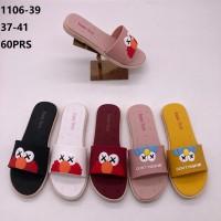 Sandal selop Elmo Sesame Street 1106-39 Wanita