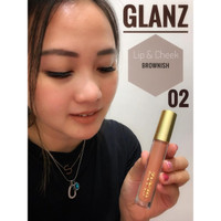 GLANZ Lip and Cheek Lipstik 3in1