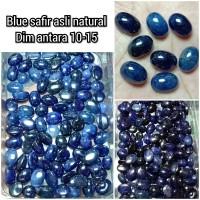 CINCIN BATU PERMATA BLUE SAFIR DIJAMIN ASLI NATURAL TERBARU 03